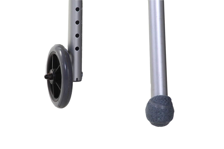 grey tennis balls